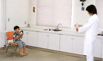 3歳児検診の視力検査